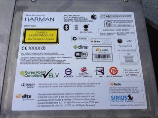BMW F30 F10 F01 F13 12 DVD Navigation GPS CD Player Receiver Head Unit Radio