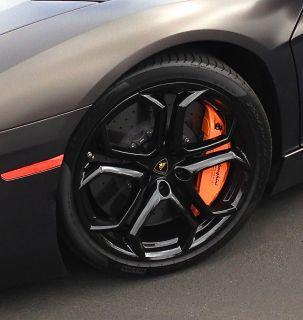 Best Original Genuine Factory Lamborghini Aventador LP700 Black Wheels Tires
