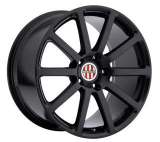 "22"" Victor Zehn Wheels Black Porsche Cayenne Turbo s GTS TSW VW Touareg TDI V8"