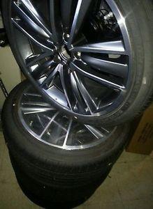 "RARE 2014 Infiniti Q50 19"" Rims w Tire M37 G37 G35 Nissan Wheels Infinity"