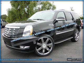 "Cadillac Escalade 24"" inch Chrome Wheels Rims Package"