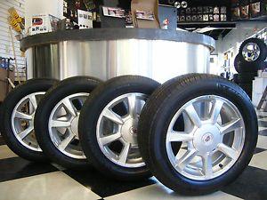 "17"" inch Cadillac cts Wheels w 235 55 17 Michelin MXV4 Tires"