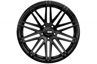 "22"" Cadillac cts V Coupe XO Milan Matte Black Concave Wheels Rims"