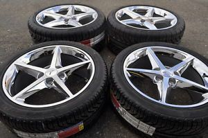 Corvette C6 Chrome Wheels Rims Tires 2011 2012 2013 Factory Stock Wheels