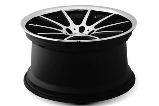 "20"" Honda Accord Sedan Rennen C10 Machined Concave Staggered Wheels Rims"