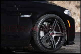 "20"" Roderick RW7 Concave Wheels Rims Fits Cadillac cts Sedan"