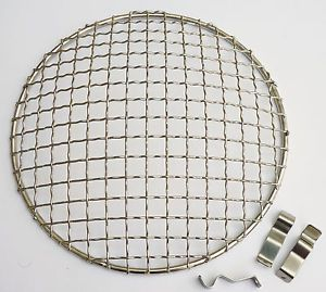 Stainless Steel Headlamp Grill Stone Guard for Classic Mini Triumph MG Etc