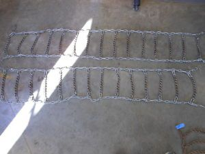 Case Garden Tractor Tire Chains 8 16 Power King 442 444 446 448 Ingersoll 4020