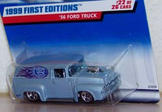 1998 Hot Wheels First Editions Genuine Ford Parts Emblem '56 Ford Truck Panel