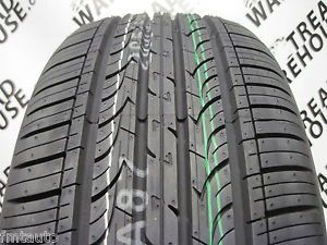 Two 2 New Kumho Solus KH25 Grand Touring All Season Tires 205 50 R 17