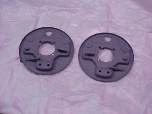 1940 Ford Brake Backing Plates Hot Rod Rat Rod Scta Rear RT and Left