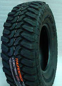 4 New LT285 75R16 Thunderer Mud Tires 285 75 16 Load Range E 10 Ply M T