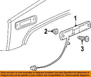 Hummer GM 25952319 Side Marker Lamp