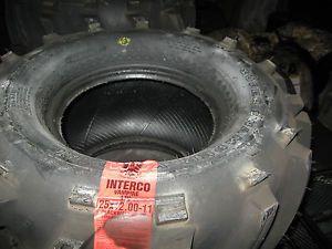 New ATV Tire Interco Super Swamper Vampire 25x9 5 11 Mud Tire 6 Ply