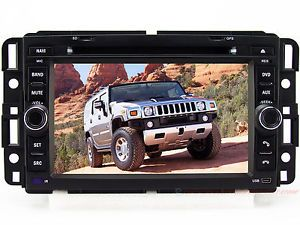 Car DVD Player GPS Navigation in Dash Stereo Radio System iPod TV for Hummer H2