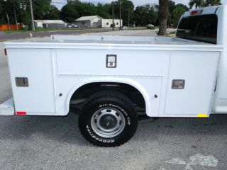 Knapheide Utility Bed Service Body Work Truck 3 5L i5 Fleet Serviced One Owner