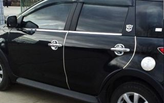 Chrome Door Edge Trim