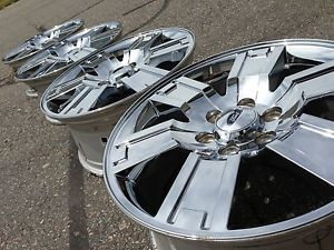 """20"""" Ford F150 Expedition Platinum Limited Factory Stock Chrome Wheels Rims"""