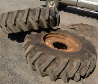 Firestone Foresty Special Skidder Tires 16 9x30 Complete Set