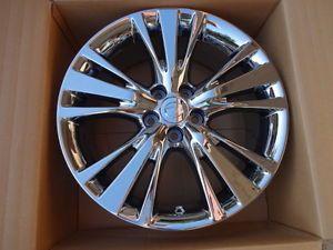 "2013 Lexus RX350 19"" PVD Chrome Wheel Rims Set of 4 Lexus Wheel 74254"