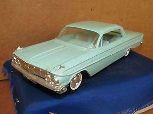 Vintage 1961 Chevrolet Chevy Impala Promo Dealer Model Car Auto 4 Door Hardtop