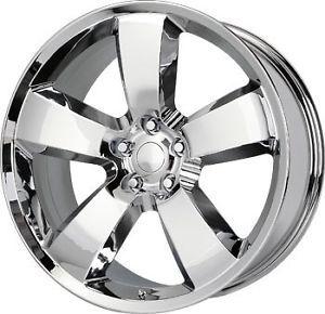22 inch 22x9 Replica Wheels Rims Dodge Challenger SRT Chrome 5x115 18 Offset