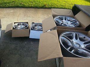 """Dodge Dakota Durango R T Factory 17"""" Chrome Wheels Rims"""