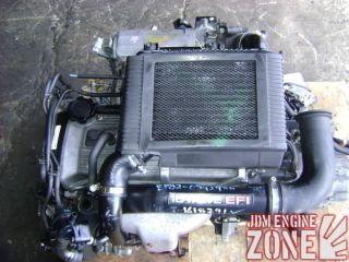 JDM Toyota Paseo Starlet Tercel Turbo Engine Motor 1 3L 4EFTE 4E