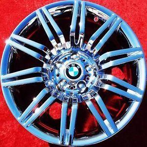 """Set of 4 New 19"""" BMW 550i Sport E60 Chrome Wheels Rims M5 525i 530i 59554"""