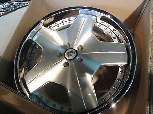 21x9 21x10 5 Forgiato Alneato Satin Chrome Wheels Mercedes SL and CLS