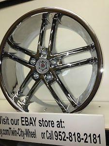 18 inch Chrome Sevizia Wheels Rims Nissan Altima Maxima Sentra Murano Juke Rogue