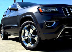 "20"" Factory 2014 Jeep Grand Cherokee Wheels Rims Chrome Fit Dodge Durango 18"