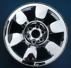 "2009 2010 2011 GMC Yukon XL Sierra Denali 1500 Pickup 20"" Wheel Rim Chrome Nice"