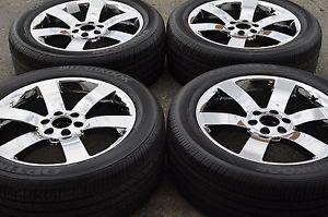 "20"" Chevrolet Trailblazer SS Chrome Wheels Rims Tires Factory Wheels 5254"