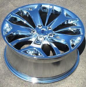 "Exchange Stock 4 19"" Factory Ford Taurus Chrome Wheels Rims 2013 3925"