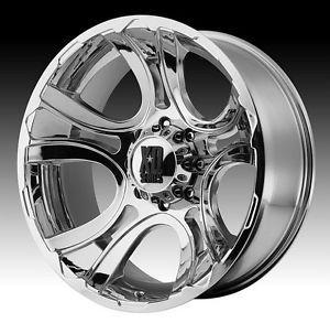17 inch 17x9 XD Chrome Wheels Rims 8x170 Ford F 250 F 350 Excursion
