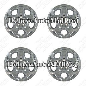 """Ford Fusion 2010 2013 Chrome Factory Replica Wheel Covers Hubcaps 17"""""""