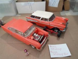 AMT Revell '55 Chevy '57 Chevy 57 Nomad All Parts Cars Used '70's Era