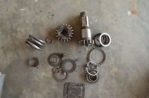 Antique Harley Single Cylinder Model B Transmission Parts Peashooter