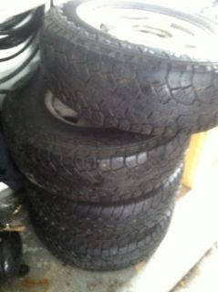 4 Chevy Silverado Suburban Tahoe Stock Wheels and Tires Hankook Mastercraft