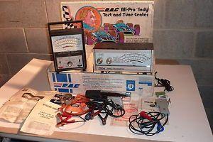 Vintage Sun Car Tach Dwell Engine Meter Shelby Dan Gurney Cobra Timing Light Rac