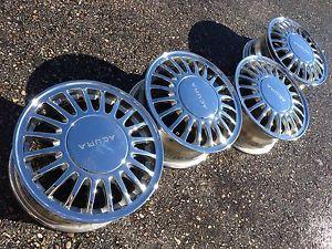 "16"" Acura Legend Honda Accord Vigor R JDM Factory Stock Chrome Wheels Rims"
