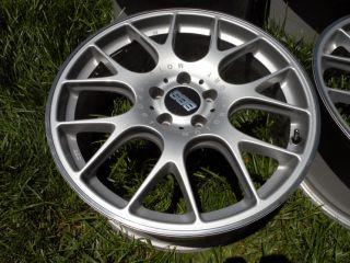 19 BBs CH R Wheels Mercedes E C SL CLS MK5 MK6 Audi VW Golf Rabbit GTI Gli 5x112