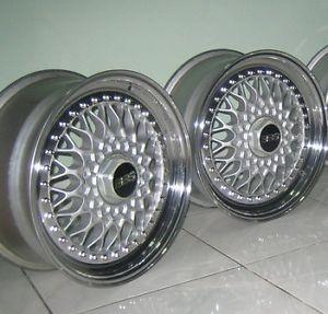 Original BBs RS300 2 Wheels Rims 17 for JDM Sport BBs oz AC Schnitzer Hartge