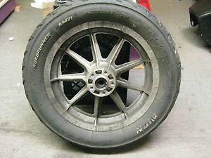 AMF Harley Davidson 16 x 3 Mag Rim w Avon Tire Bobber Wheel Old School LQQK