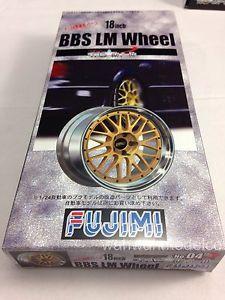 Fujimi TW04 Wheel Tire Set 1 24 Scale Kit BBs LM