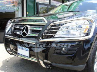 06 09 Mercedes Benz ML320 ML350 ML500 ML550 Brush Grille Guard Push Bull Bar s S