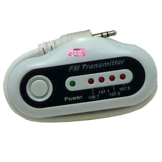 Wireless FM Radio Transmitter MP3 iPod CD Cassette Player Car Charger Laptop