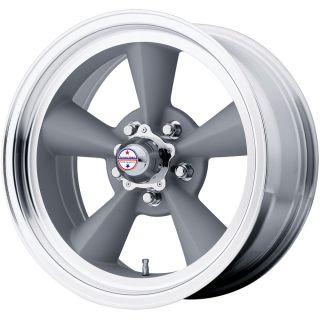 15x7 Gray American Racing Vintage Torq Thrust Wheel 5x5 5x127 6