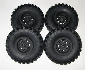 New Axial Jeep Wraith Poison Spyder BFGoodrich Krawler T A Tire Mounted Set of 4
